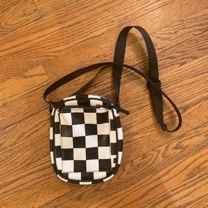 Urban outfitters checkered crossbody bag